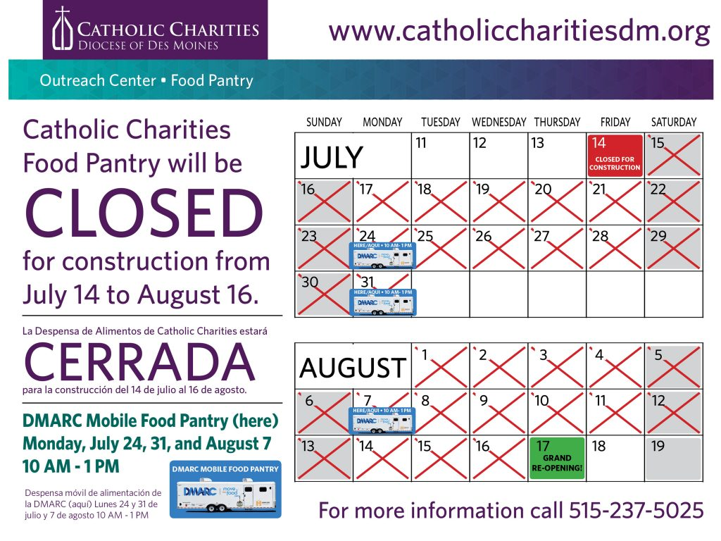 Food Pantry Catholic Charities