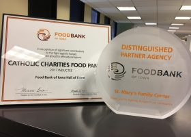 Food Bank of Iowa Awards