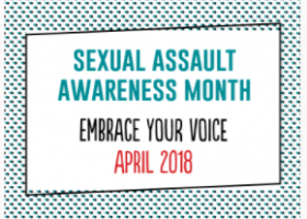 April is Sexaul Assault Awareness Month