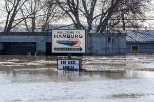 Floods in Hamburg, IA