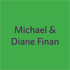 2021 Shamrocks donor squares Michael and Diane Finan