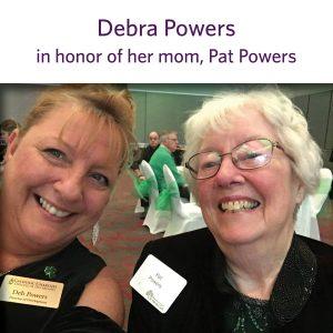 2021 Shamrocks donor squares Powers