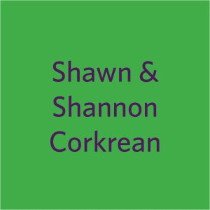 2021 Shamrocks donor squares Shawn and Shannon Corkrean