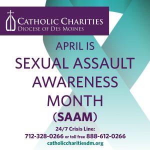 2021 Sexual Assault Awareness Month FB Post